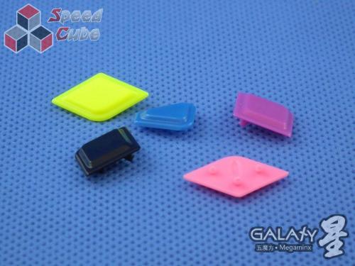 QiYi MoFangGe X-Man Megaminx GalaXy Luxurious set
