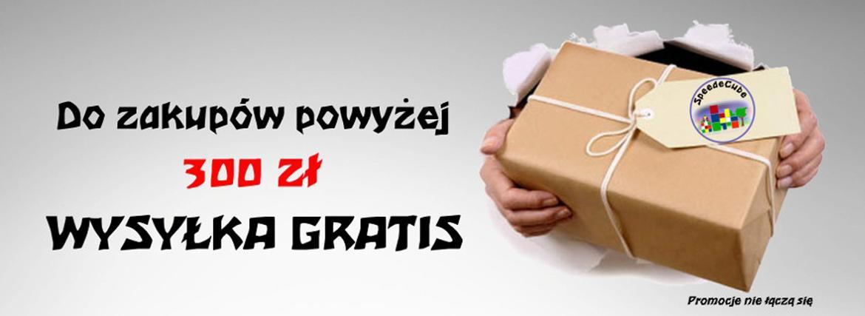 Darmowa dostawa przy zamówieniu powyżej 300 zł